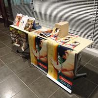 「抱きしめてツナイト 創刊4周年記念 大暴燃會スペシャル」にて書籍販売会を行いました